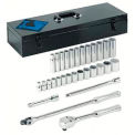 """30 Piece 1/2"""" Dr. Socket Sets, ARMSTRONG TOOLS 15-510"""