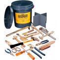AMPCO® M-51 Non-Sparking 17 Piece HAZMAT Kit
