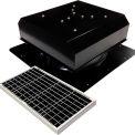Attic Breeze® GEN 2 AB-4022D-BLK Self-Flashing Detached Solar Attic Fan 40W Black