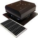 Attic Breeze® GEN 2 AB-4022D-BRN Self-Flashing Detached Solar Attic Fan 40W Brown