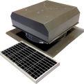 Attic Breeze® GEN 2 AB-4022D-GRY Self-Flashing Detached Solar Attic Fan 40W Gray