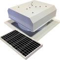 Attic Breeze® GEN 2 AB-4022D-WHT Self-Flashing Detached Solar Attic Fan 40W White