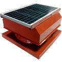 Attic Breeze® GEN 2 AB-4042A-TCT Curb Mount Attached Solar Attic Fan 40W Terra Cotta