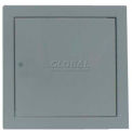 "Multi Purpose Metal Access Panel, Cam Lock, Gray, 12""W x 12""H"