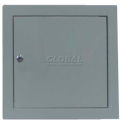 "Multi Purpose Metal Access Panel, Key Lock, Gray, 24""W x 24""H"