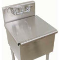 Stainless Steel Sink Cover For Budget Sink 24 X 24 Bowl