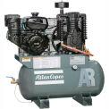Atlas Copco Two-Stage Gas Air Compressor, Robin, 9 HP, 30 Gal