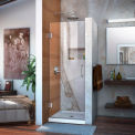 "DreamLine™ Unidoor Frameless Shower Door SHDR-20247210F-01, 24"" x 72"""