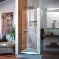 DreamLine™ Unidoor Frameless Shower Door SHDR-20277210F-04, 27