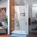 DreamLine™ Unidoor Frameless Adjustable Shower Door SHDR-20377210-01, 37