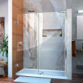 "DreamLine™ Unidoor Frameless Adjustable Shower Door SHDR-20607210-01, 60""-61"""