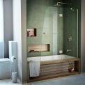 DreamLine™ Aqua Clear Glass Bathtub Door SHDR-3148586-04, 48
