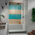 "DreamLine™ Enigma x Shower Door SHDR-61487610-07, 44""-48"" x 76"""
