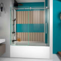 "DreamLine™ Enigma x Fully Frameless Tub Door SHDR-61606210-07, 56""-59"" x 58"""