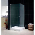 "DreamLine™ Tetra Frameless Glass Shower Enclosure SHEN-12343410-01, 34"" x 34"" x 74"""