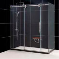 "DreamLine™ Enigma Fully Frameless Shower Enclosure SHEN-60367212-07, 36"" x 72"" x 79"""