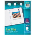 Lay Flat Report Covers, 1/2 Capacity, Blue