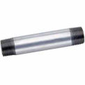 2 In X Close Galvanized Steel Pipe Nipple 150 PSI Lead Free