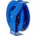 "Coxreels MPL-N-450 1/2""x50' 2500 PSI Heavy Duty Spring Retractable Medium Pressure Steel Hose Reel"