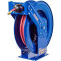 """Coxreels EZ-TSH-550 3/4""""x50' 250 PSI EZ-Coil® Safety Series Spring Retractable Hose Reel"""