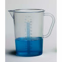 Bel-Art 289830000 Graduated Pitcher, TPX® Polymethylpentene, 1000ML