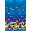 """GLI Pool Liner 050015RDAQMUB52 15' Round, Aquarium Print, 52"""" UniBead"""