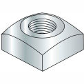 Square Nut - 1/4-20 - Grade 2 - Steel - Zinc CR+3 - Pkg of 250 - Brighton-Best 237028