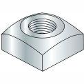 Square Nut - 3/8-16 - Grade 2 - Steel - Zinc CR+3 - Pkg of 100 - Brighton-Best 237032