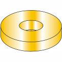 "Flat Washer - 3/4"" - Thru Hardened Medium Carbon Steel - Zinc Yellow - USS - Pkg of 50 - BBI 353400"