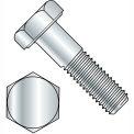 """Hex Cap Screw - 3/8-16 x 1-1/4"""" - Steel - Zinc CR+3 - Grade 2 - FT - Pkg of 100 - BBI 403106"""