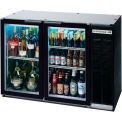 "Glass Door Back Bar Refrigerator BB-G Series, 48""W - BB48HC-1-G-S"