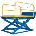 "Blue Giant® Elevating Dock ED5-7296 - 5000 Lb. Capacity - 72"" x 96"" Platform"