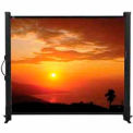 "50"" Amsterdam Tabletop Screen Matte White Square Format Projector Screen"