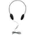 Schoolmate Personal Stereo/Mono Headphone w/ In-Line Vol
