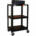 "Steel Cart, Adj. 34"" To 54"" w/ Electric"