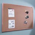 "Natural Cork Tackboard - Wood Trim - 36"" x 48"""