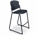 Stacking Stool with Contoured Seat and Back