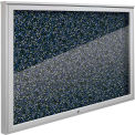"""Balt® Weather Sentinel Outdoor Enclosed Cabinet - Rubber-Tak Surface - 36""""W x 24""""H Blue"""