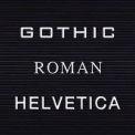 "Balt® Gothic Letter Sets - 3/4""H"