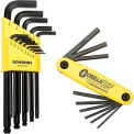 Bondhus 14189 Bonus Pack - Balldriver L-wrench Set 10937 & Gorilla Grip Fold-up Set 12589