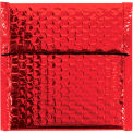 "Glamour Bubble Mailers 7"" x 6-3/4"" Red, 72 Pack"