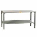 Little Giant®  Adjustable Welded Workbench w/Open Base, 30 x 60