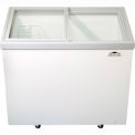 Commercial Glass Top Merchandiser - 9 Cubic Ft.