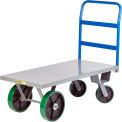 Little Giant® Heavy Duty Platform Truck, 30 x 72, Poly Whls, 4000 lb. Cap.