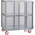 Little Giant® Mobile Storage Locker SC-2448-6PPY 1 Center Shelf 24x48 Polyurethane Whls
