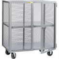 Little Giant® Mobile Storage Locker, 1 Center Shelf, 36x72, Phenolic Wheels