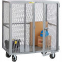 Little Giant® Mobile Storage Locker, 30 x 72, Phenolic Wheels