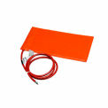 "BriskHeat® Silicone Rubber Heating Blanket SRP06121P Adhesive Back 6""Wx1'L 90W 120V"