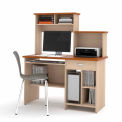 Active Computer Workstation in Copper Cherry & Maple