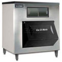 Ice Bin, 1807 lb. Storage Capacity For Top-Mounted Ice Maker, Viewing Window